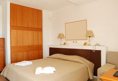 Apartment in the luxury hotel Stock Image