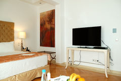 Apartment in the luxury hotel Stock Photography