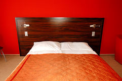 Apartment in the luxury hotel. Strbske Pleso ski resort, High Tatras, Slovakia royalty free stock photos