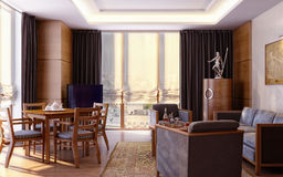 Apartment in modern style Stock Photo