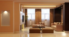 Apartment in modern style Stock Photography