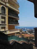 Apartment in Monaco royalty free stock images