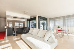 Apartment in new building Stock Photography