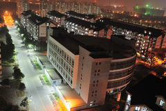 Apartment night scenes Stock Photo