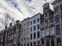 Apartment and office buildings. In Amsterdam Royalty Free Stock Photography