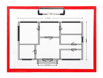 Apartment plan Royalty Free Stock Image