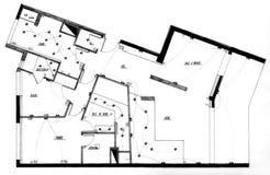 Apartment plan Royalty Free Stock Photo