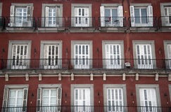 Apartment plaza mayor Royalty Free Stock Image