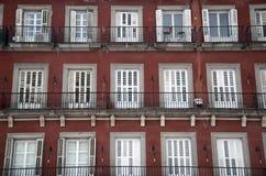 Apartment plaza mayor Royalty Free Stock Image