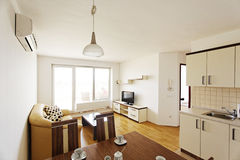 Apartment for rent. Apartment building near Vivat thermal SPA Royalty Free Stock Photo