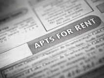 Apartment for rent Stock Photos