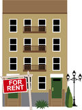 Apartment for rent Stock Image