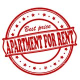 Apartment for rent. Stamp with text apartment for rent inside,  illustration Stock Photo