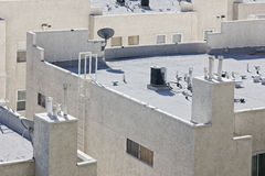 Apartment Roof Top Royalty Free Stock Photo