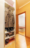 Apartment rooms. Rooms of a modern apartment, new with simple furniture Stock Images