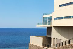 Apartment sea view Royalty Free Stock Photography