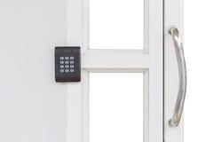 Apartment Security keypad Lock. Stock Photo