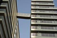 Apartment Skyway Stock Image