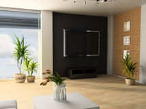 Apartment studio Royalty Free Stock Images