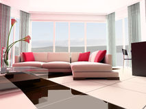 Apartment studio Stock Image