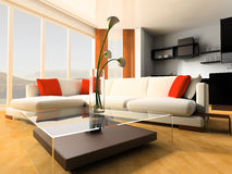 Apartment studio Stock Image