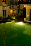 Apartment Swimming Pool Royalty Free Stock Images