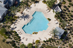 Apartment Swimming Pool Stock Images