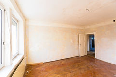 Apartment to be renovated Stock Image