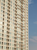 Apartment Tower. Architectural Detail of Modern High Rise Apartments Stock Images