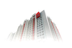 Apartment Towers Royalty Free Stock Images