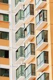 Apartment window Stock Images