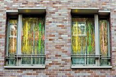Apartment window Stock Photography