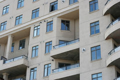 Apartment Windows Stock Photography
