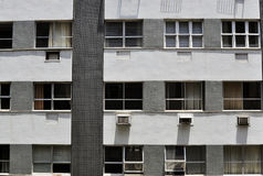 Apartment windows Royalty Free Stock Photos