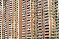 Apartment windows, China Royalty Free Stock Image