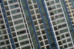 Apartment windows Stock Photos