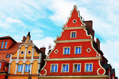 Apartment in Wroclaw, Poland. Old apartment in Wroclaw, Poland Royalty Free Stock Photos