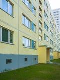 Apartmenthäuser Stockfoto