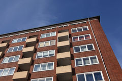 Apartmenthaus Lizenzfreies Stockbild