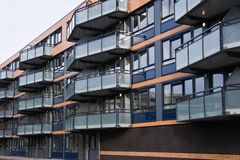 apartmenthouse ανακαίνιση Στοκ Φωτογραφία
