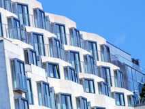 Apartments. City apartments Royalty Free Stock Photo