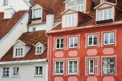 Apartments. In old city of Riga. Latvia Royalty Free Stock Photos