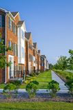 Apartments. Typical modern apartment buildings in American Midwest Royalty Free Stock Photos