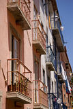 Apartments with balcony Royalty Free Stock Images