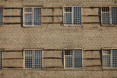 Apartments with bars on windows Royalty Free Stock Photography