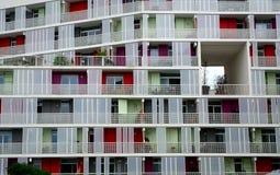 Apartments, Bordeaux, France Royalty Free Stock Photos