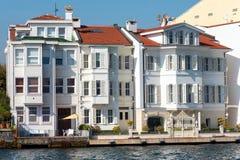 Apartments at the Bosphorus Royalty Free Stock Photos