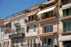 Apartments in the city of Cannes Stock Image