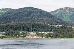 Apartments on Coast of Alaska Stock Images