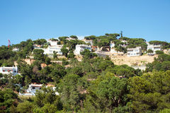 Apartments at the Costa Brava Royalty Free Stock Photo